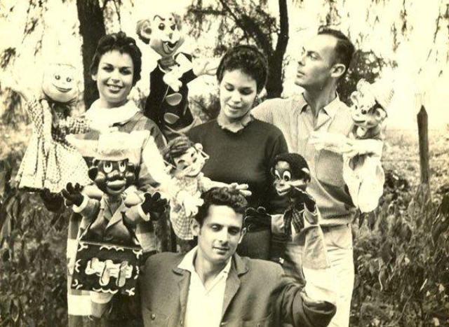 Los hermanos Camejo, años 50