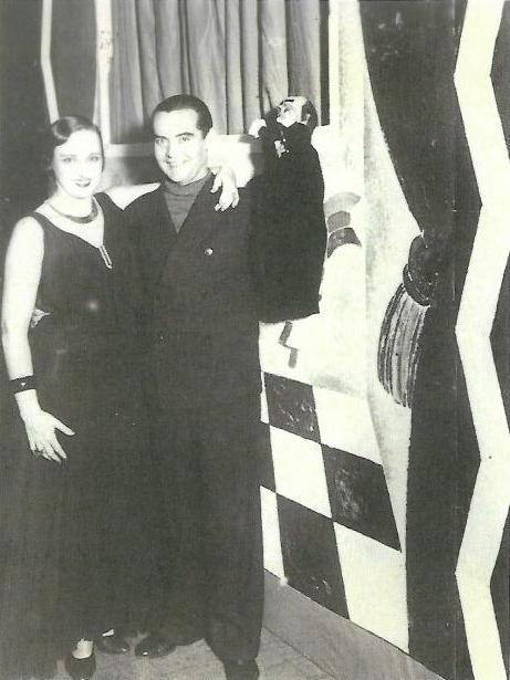 Buenos Aires, 1934, Lorca con Elena Cortesina