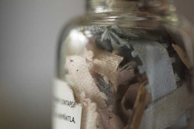 La máquina de la soledad. Oligor y Microscopía. Foto de Dalia Huerta.