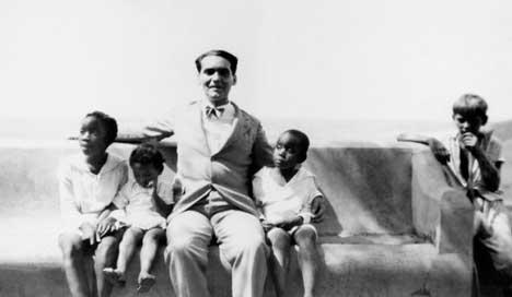 Lorca en el mirador de Yumurí, Matanzas, Cuba, 1930