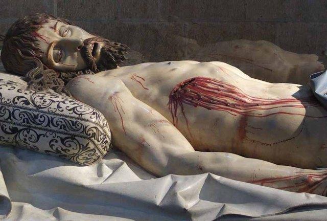 Cristo Yacente, Catedral de Segovia.
