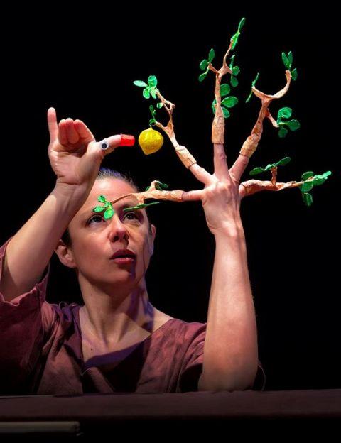Analía Sisamón, de Canela Teatro