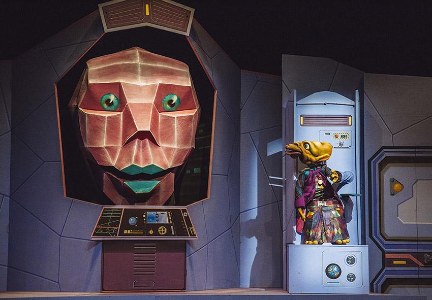 Teatro Mutis, 'Maleta, misión espacial secreta'.