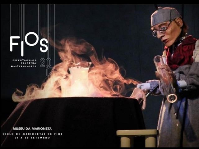 FIOS, dos semanas de Hilo, en el Museu da Marioneta de Lisboa