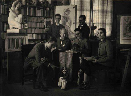 'Fulgor y Castigo de Hermenegildo Lanz', exposición en el Palacio de los Condes de Gabia, en Granada