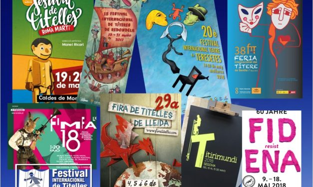 Llegan los Festivales de mayo de 2018: Lleida, Lisboa, Segovia, Sevilla, Granada, Gavà, Palma de Mallorca, Redondela, Caldes de Montbui, Cádiz, Santillana del Mar, Pola de Siero, Utrera…, y Bochum en Alemania