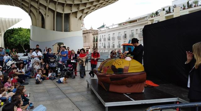 38 Feria de Títeres de Sevilla: 'Cal y Canto', 'La Estrella', 'Partículas Elementales' y Lisa Bencivenni