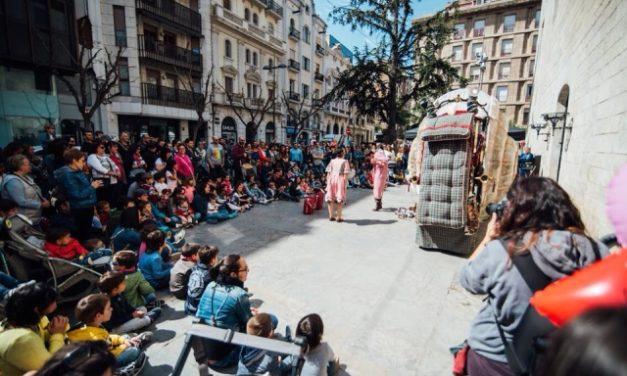 Espectáculos de calle en la 29ª Fira de Titelles de Lleida, por Sara Serrano