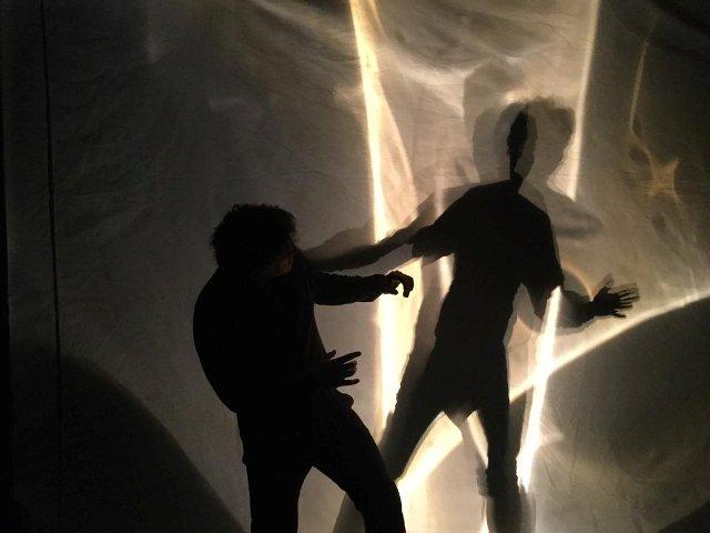 'El Sueño del Señor Rodari', ópera en sombras de Nuria Núñez Hierro, con dirección de la cia. Controluce. Estreno en Roma