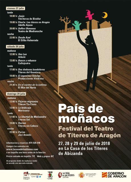 'País de moñacos' – Festival de Teatro de Títeres de Aragón – Abizanda