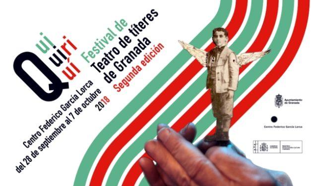 Quiquiriquí 2018 – El Festival de Teatro de Títeres de Granada