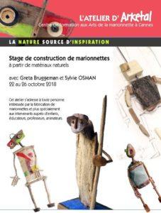 Curso Construcción de Marionetas - con Arketal @ Atelier Arketal | Cannes | Provence-Alpes-Côte d'Azur | Francia