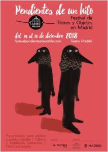 Pendientes de un Hilo, Festival de Títeres y Objetos en La Sala Pradillo, Madrid @ Sala Pradillo | Madrid | Comunidad de Madrid | España