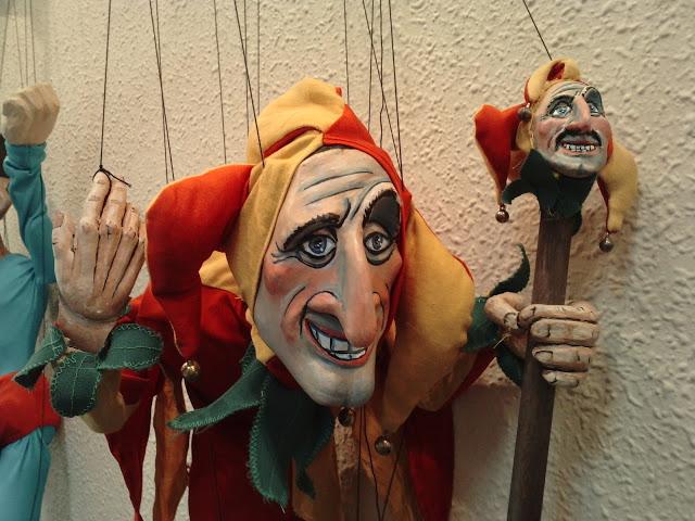 Introducción a la Marioneta de Hilos, curso de Edu Borja, en Valencia