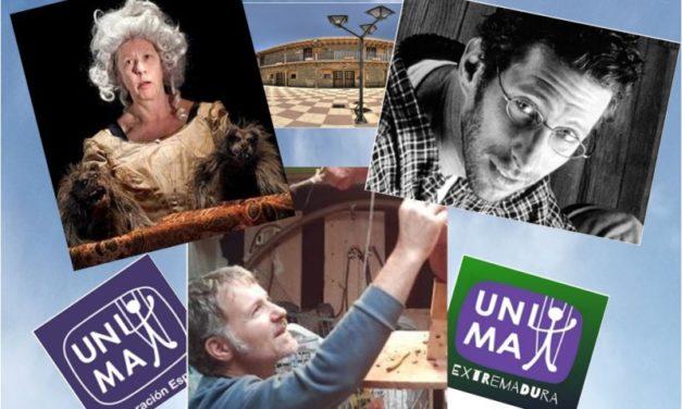XVIII Escuela de Verano de Unima Federación España – julio 2019 – con Eudald Ferré, Claudio Hochman y Agnès Limbos