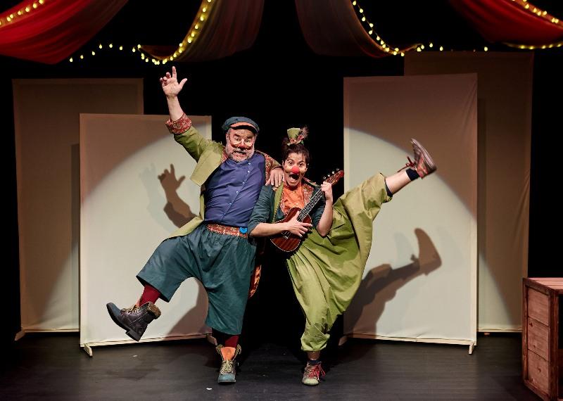 """Estreno en el Teatro Arbolé: """"Un día en el Teatro"""", un viaje iniciático al mundo de las artes escénicas"""