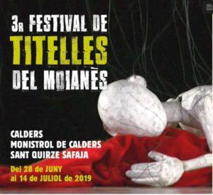 Festival de Titelles del Moianès: espectacles, exposició de titelles de Tailàndia, trobada de titellaires i Assemblea d'Unima Catalunya @ Calders | Calders | Cataluña | España
