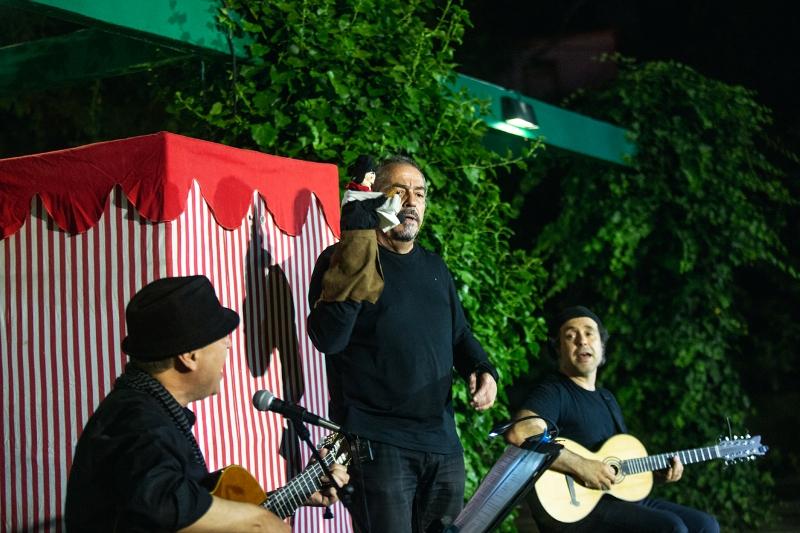 I- Mó, Festival de Marionetas de Oeiras: inauguración con Manuel Costa Dias y Francisco Obregón