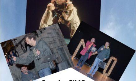 II- FIMO – Festival Internacional de Marionetas de Ovar: Cia. Tu Mateixa, Di Filippo Marionette, Partículas Elementales, Cia. Ele, Cia. Bipolar y Blick Théâtre. Premios a 'O Ninho', de Partículos Elementales, y a 'Colgando de un hilo', de Di Filippo Marionette