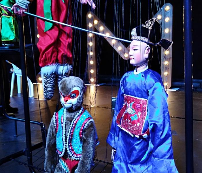I- FIMO – Arranque del Festival de Marionetas de Ovar: Sky Bird Puppet Group, Sofía, The Gipsy Marionettist y Marimbondo