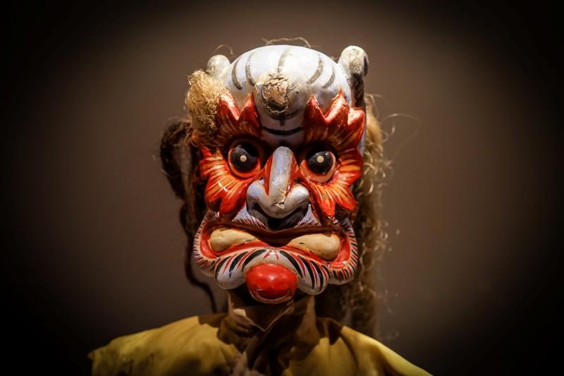 'Made in China', exposición de máscaras y marionetas chinas en el Museu da Marioneta de Lisboa. @ Museu da Marioneta de Lisboa