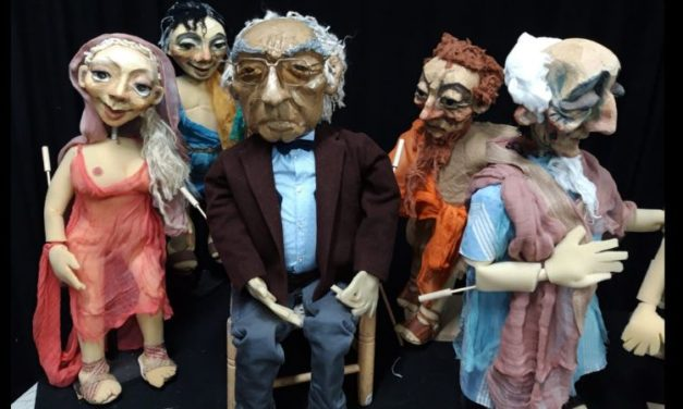 'Caín de Saramago', de Teatro Arbolé con dirección de Iñaki Juárez, en Zaragoza