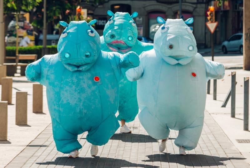 HIPPOS, ZUM-ZUM TEATRE: Crónica de unos hipopótamos que bailan, por Sara Serrano