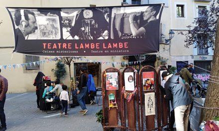 I Ciclo Internacional de Teatro Lambe-Lambe en Barcelona (2019-2020), por Irma Borges con la colaboración de Paula Casanova
