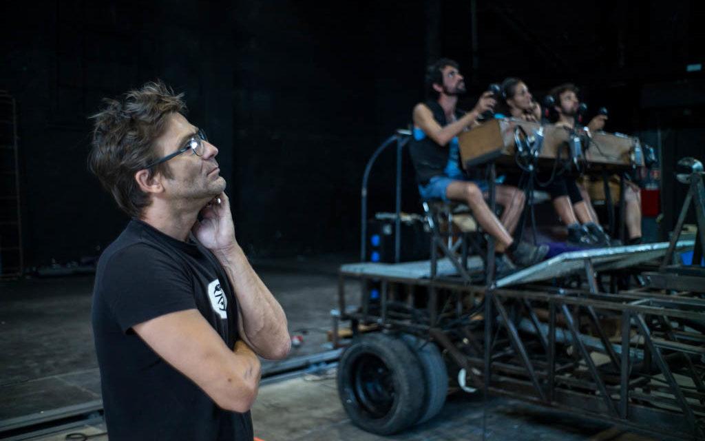 JORDÀ FERRÉ, titiritero de máquinas, ingenios y marionetas gigantes. Entrevista