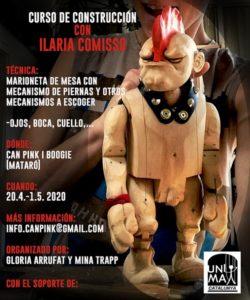 Taller de construcción con Ilaria Comisso @ Can Pink, Mataró