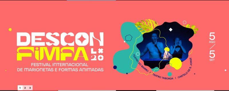 Pronto el Festival de Marionetas y Formas Animadas de Lisboa, FIMFA 2020