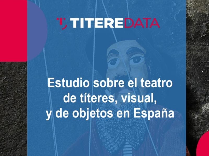 Viernes 18, a las 5h de la tarde: presentación virtual y presencial del Estudio sobre el Sector del Teatro de Títeres, Visual y de Objetos, en el marco de la 40 Feria Internacional del Títere de Sevilla
