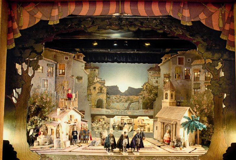 Tirisiti Christmas Crib, Alcoy The Three Wise Men.