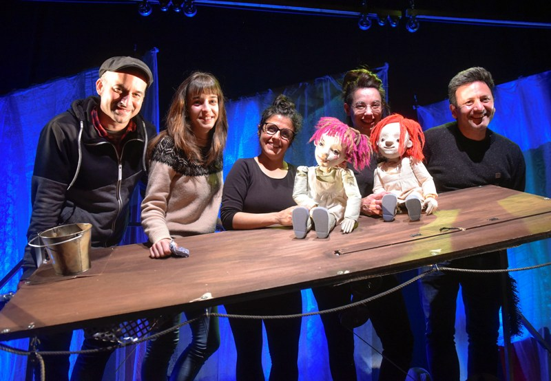 Residencia de Anita Maravillas en el TOPIC de Tolosa con la obra 'Las Cotton'