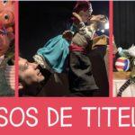 Tres cursos de títeres en La Puntual, octubre de 2021