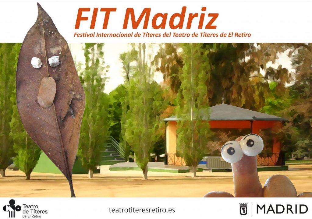 Llega el FIT Madriz 2021, el Festival Internacional de verano del Teatro de Títeres de El Retiro @ Teatro de Títeres del Retiro