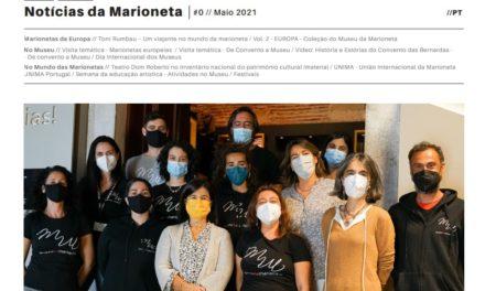 Publicaciones del Museu da Marioneta de Lisboa: boletín 'NOTICIAS DA MARIONETA' y Catálogo Europa