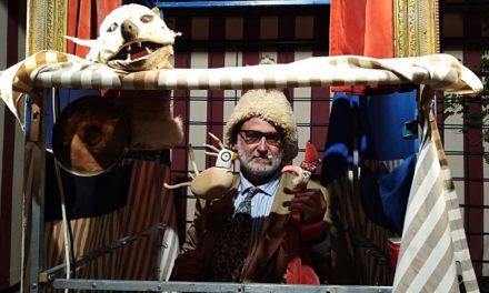 II – Parque de las Marionetas 2021, Zaragoza: 'Le Fumiste', 'Mago Chipirón', 'Pipa', 'Pulcinella', 'Tauromaquia' y 'Punchinelis'