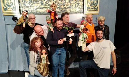 III: Exposición 'Giù la maschera' y 'MAgicaBUra!', Festival de Teatro di Figura, en Pordenone, Italia: Claudia Contin Arlecchino, Gianluca Di Matteo y Compañía Romano Danielli