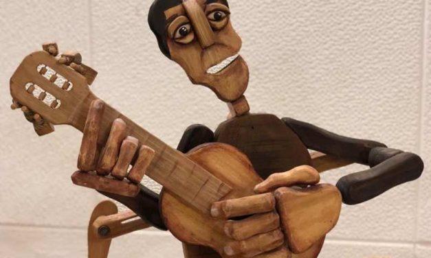 Taller de construcción de Autómatas, a cargo de Hernan Lira, en el Taller de Marionetas de Pepe Otal