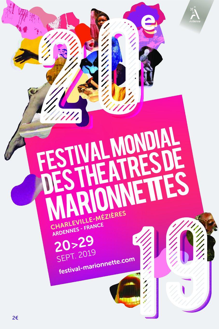 Festival Mondial des Théâtre de Marionnettes 2019 en Charleville-Mézières. 90 aniversario de Unima