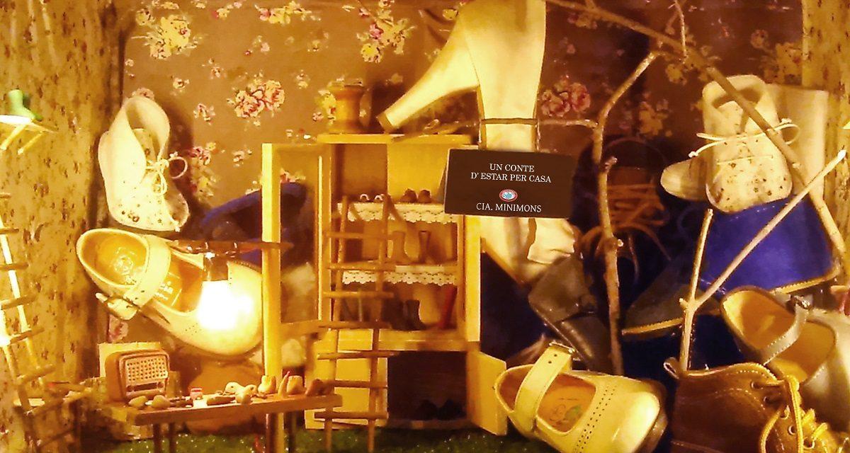 'Minimons' en el Tantarantana. Un cuento de estar por casa: vivir una historia, por Irma Borges