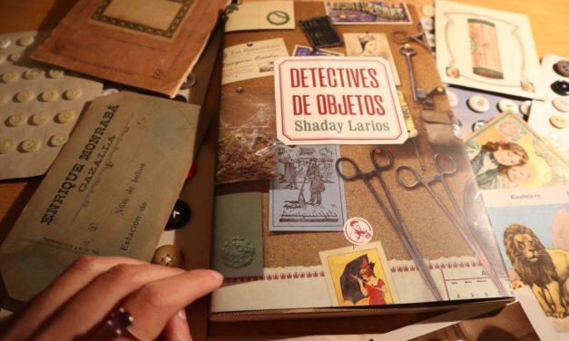 Presentación del libro 'Detectives de Objetos', de Shaday Larios, en Madrid