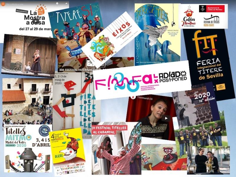 Festivales de primavera suspendidos por el COVID19