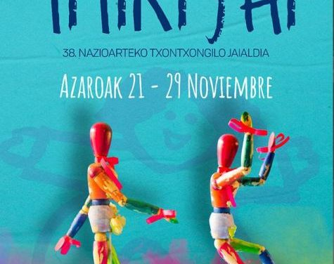Titirijai de Tolosa 2020: del 21 al 29 de noviembre. Encuentros y espectáculos